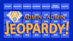 Admin to Admin Jeopardy