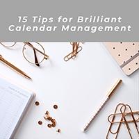 eBook: 15 Tips for Brilliant Calendar Management